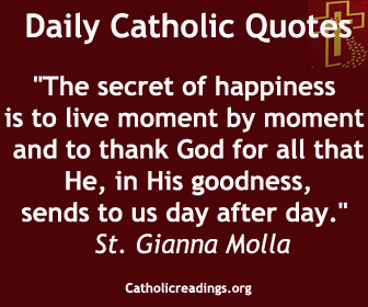 Daily Inspirational Messages Endearing Daily Catholic Quotes Inspirational Sayings Message Thought Of