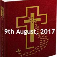 Wednesday of the Eighteenth Week in Ordinary Time -Missal Reading