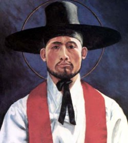 Martyrs of Korea - Saints Andrew Kim Tae-gŏn, Priest, and Paul Chŏng Ha-sang, and Companions, Martyrs