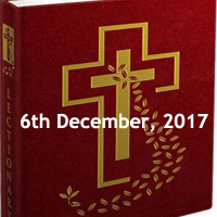 Mass Readings for Wednesday of the First Week of Advent
