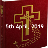 Catholic Daily Readings and Daily Reflections for Friday of the Fourth Week of Lent - 5th April 2019 - Year C
