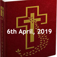 Catholic Daily Readings and Daily Reflections for Saturday of the Fourth Week of Lent - 6th April 2019 - Year C
