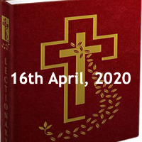 Catholic Daily Readings for April 16 2020, Thursday in the Octave of Easter, Year A – Daily Homily
