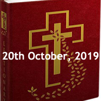 Catholic Daily Readings for 20th October 2019, Twenty-ninth Sunday in Ordinary Time Year C - Daily Homily