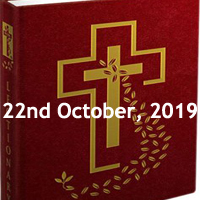 Catholic Daily Readings for 22nd October 2019, Tuesday of the Twenty-ninth Week in Ordinary Time Year C - Daily Homily