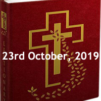Catholic Daily Readings for 23rd October 2019, Wednesday of the Twenty-ninth Week in Ordinary Time Year C - Daily Homily
