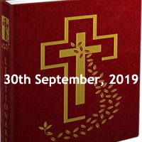 Catholic Daily Readings for 30th September 2019, Monday of the Twenty-Sixth Week in Ordinary Time Year C - Daily Homily