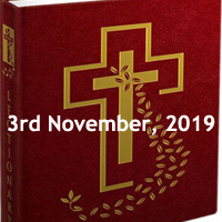 Catholic Daily Readings for 3rd November 2019, Thirty-first Sunday in Ordinary Time Year C - Daily Homily