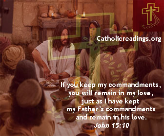 As the Father Loves Me, So I Also Love You - John 15:9-11 - Bible Verse of the Day