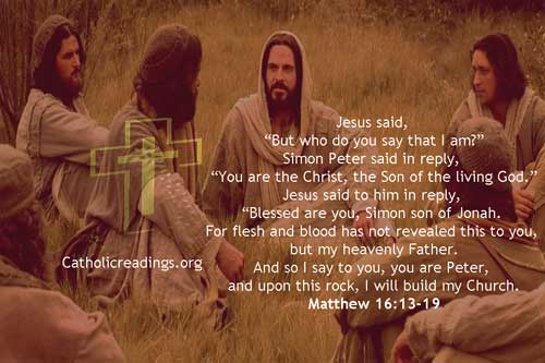 But Who Do You Say That I Am? - Bible Verse of the Day