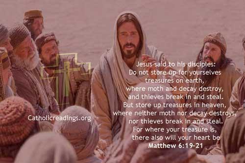 Store Up Treasures in Heaven - Matthew 6:19-21 - Bible Verse of the Day