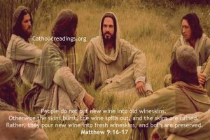 New Wine in Old Wineskins - Bible Verse of the Day