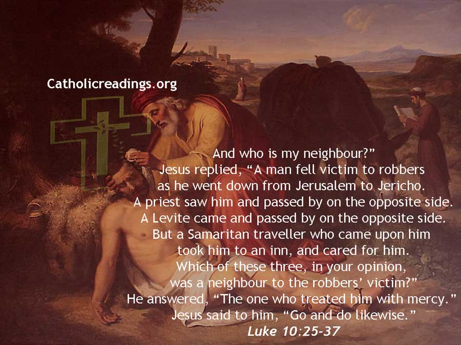 The Parable of the Good Samaritan - Who is My Neighbour - Bible Verse of the Day