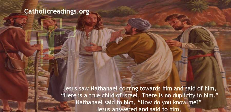Nathanael Called By Jesus - John 1:45-51 - Bible Verse of the Day