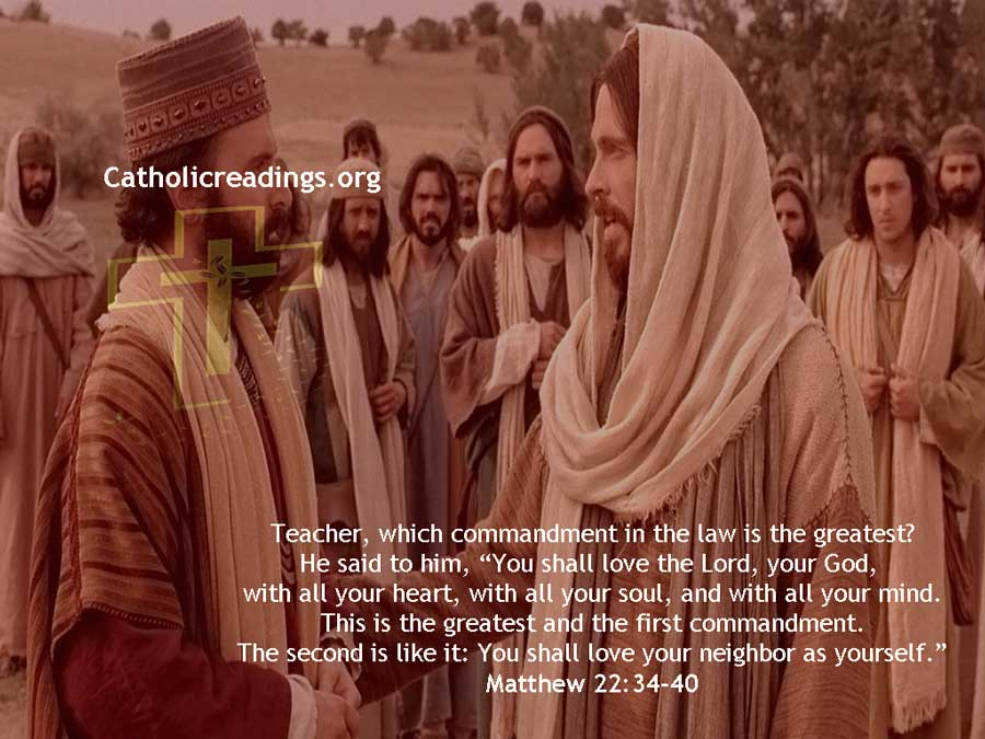 Which Commandment is the Greatest? - Matthew 22:34-40 - Bible Verse of the Day