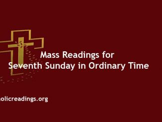 Catholic Mass Readings for Seventh Sunday in Ordinary Time