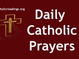 Daily Catholic Prayers, Morning Prayer, Midday Prayers, Night Prayers