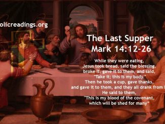 The Last Supper - Mark 14:12-26 - Bible Verse of the Day