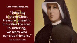 Saint Faustina Kowalska - Feast Day - October 5