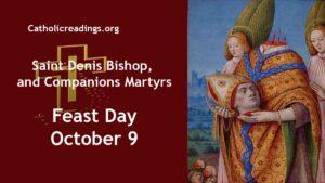 Saint Denis, Bishop and Companions, Martyrs
